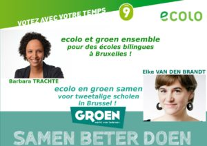 Pour des écoles bilingues / voor tweetalige scholen !